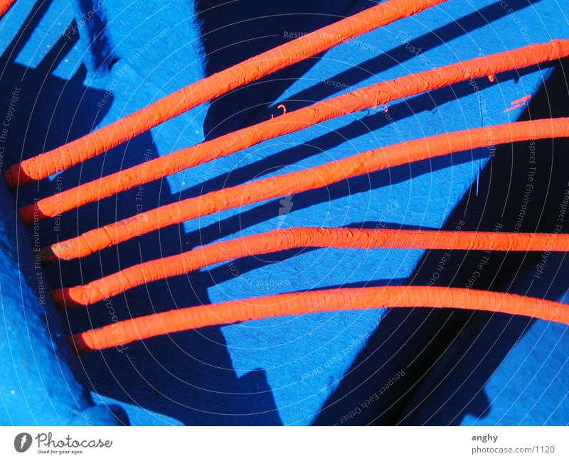 Blue Orange Art Things