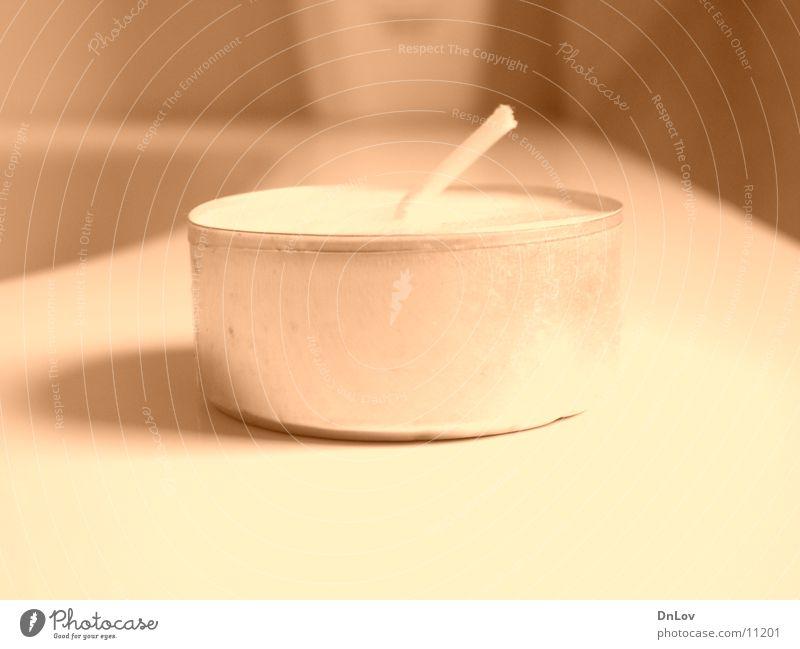 tea light Tea warmer candle Brownish Living or residing Close-up Shadow