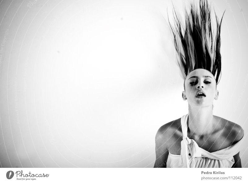 OW Model Brazil Belo Horizonte Black & white photo pedrokirilos bw pb moviment hair