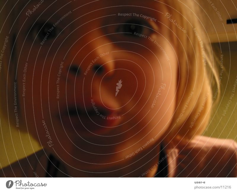 Marla2 - kiss the photographer Child Portrait photograph