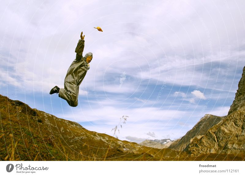 Sky Joy Clouds Jump Mountain Gray Art Flying Action Aviation Culture Switzerland Alps Dynamics Stupid Ease