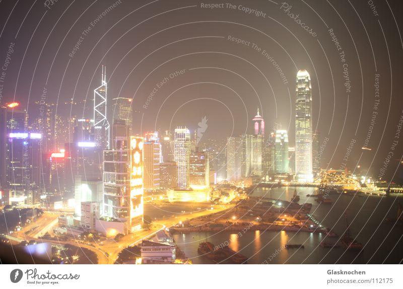 High-rise Asia China Traffic infrastructure Hongkong