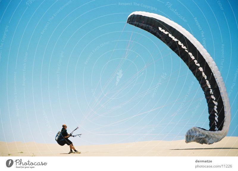 Sky Wind Desert Paragliding Flying sports Extreme sports