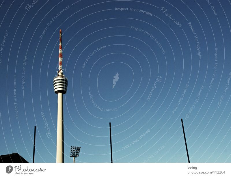 Media Sporting event Berlin TV Tower Competition Floodlight House of worship Radio technology Telecommunications Radio link system