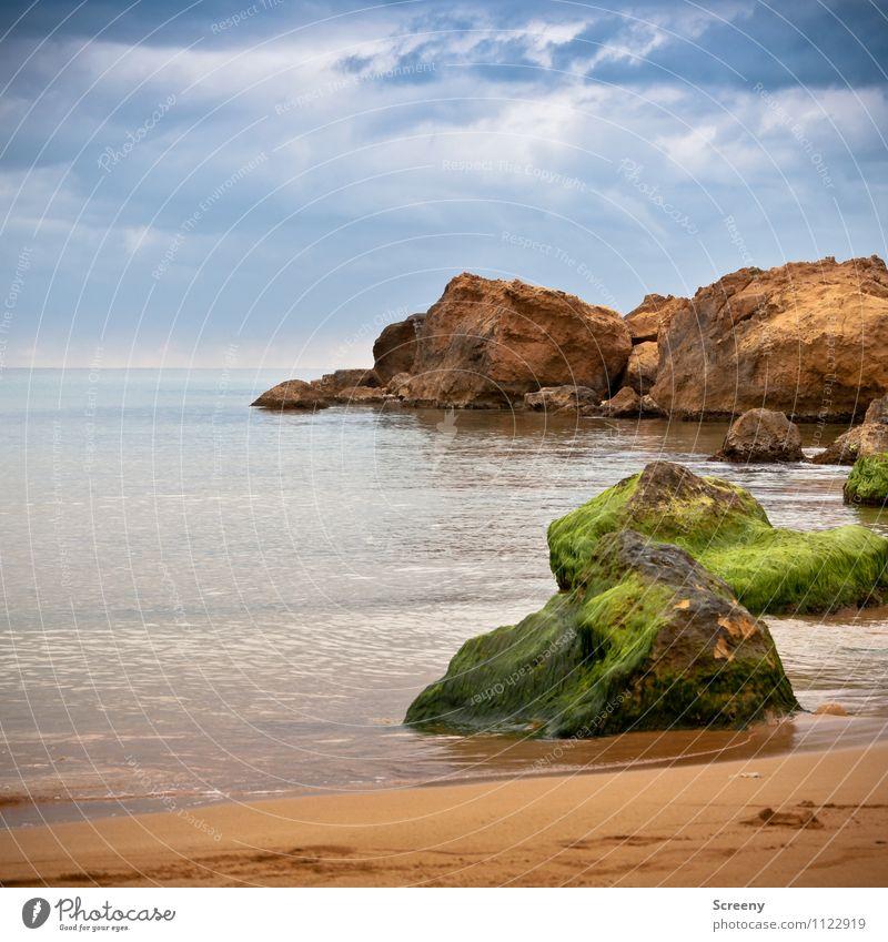 Red sand beach Vacation & Travel Tourism Trip Beach Ocean Island Waves Nature Landscape Water Sky Clouds Horizon Coast Lakeside Gozo Malta Maritime Blue Brown