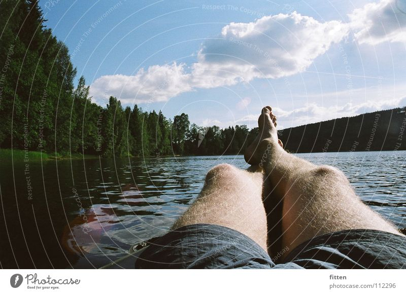 Water Sun Summer Relaxation Legs River Cozy Sweden
