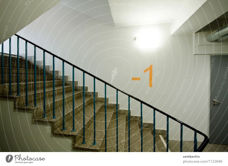 -1 (2) House (Residential Structure) Apartment Building Staircase (Hallway) Stairs Landing Level Upward Downward Ascending Go up Descent Cellar