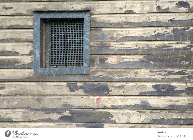 Old House (Residential Structure) Colour Wall (building) Window Wood Broken Derelict Wooden board Frame Flake off