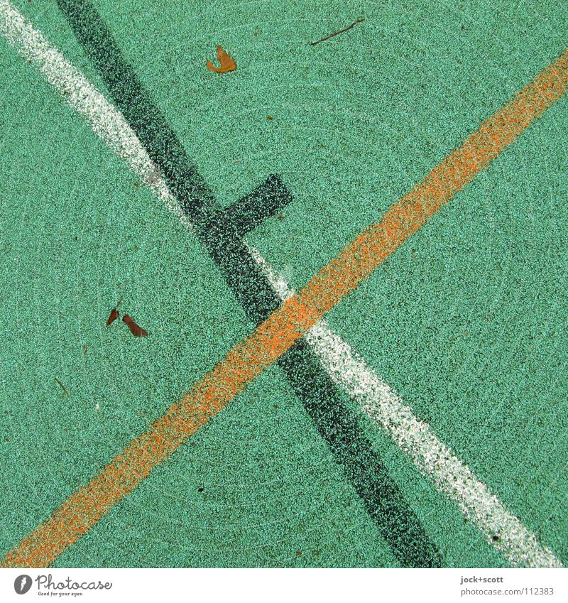 Green White Black Life Emotions Lanes & trails Sports Playing Feasts & Celebrations Line Going Orange Arrangement Perspective Beginning Force