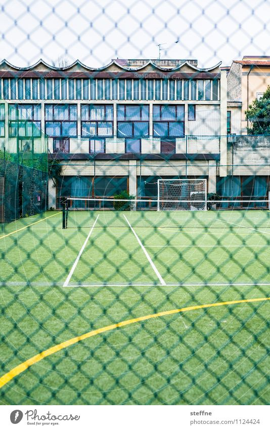 linesman Sports Sporting Complex Football pitch Playing Tennis School sport Colour photo Exterior shot