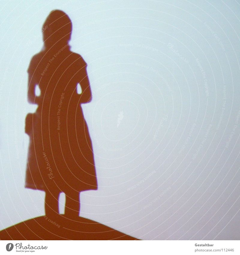 Woman Loneliness Calm Movement Feminine Think Freedom Hair and hairstyles Free Waves Stand Perspective Vantage point Hill Mysterious Prayer