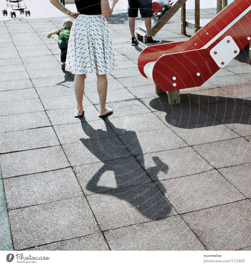 twister slide Woman Slide Playing Playground Floor mat Rubber Red White Carriage Feminine Sweet Hop Thin Club Summer Point Legs Shadow shadow woman