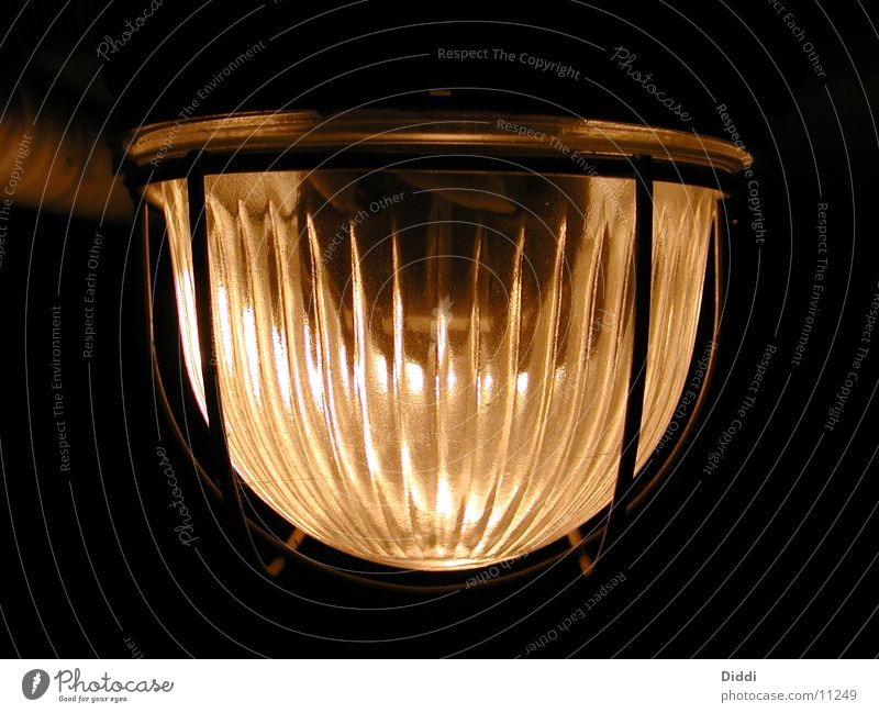 In the cellar Lamp Ceiling light Cellar Light Things