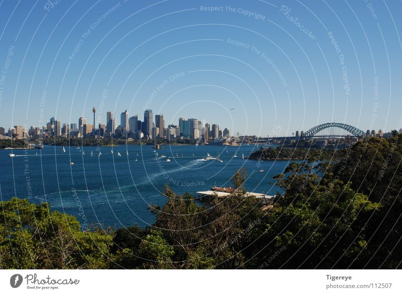 Ocean City Landscape Bridge Harbour Skyline Opera house Australia Sydney Harbour Bridge