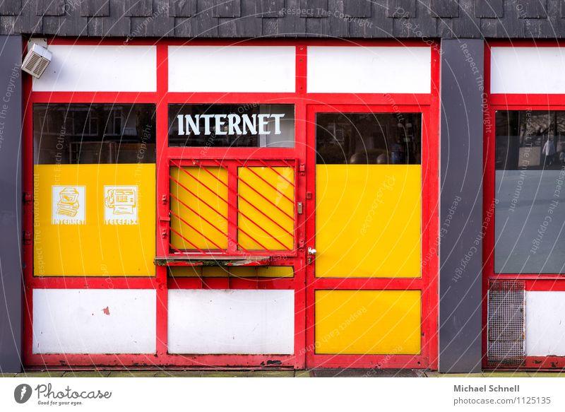 City Old Window Building Technology Computer Future Transience Telecommunications Broken Past Internet Media Advice Trashy Past