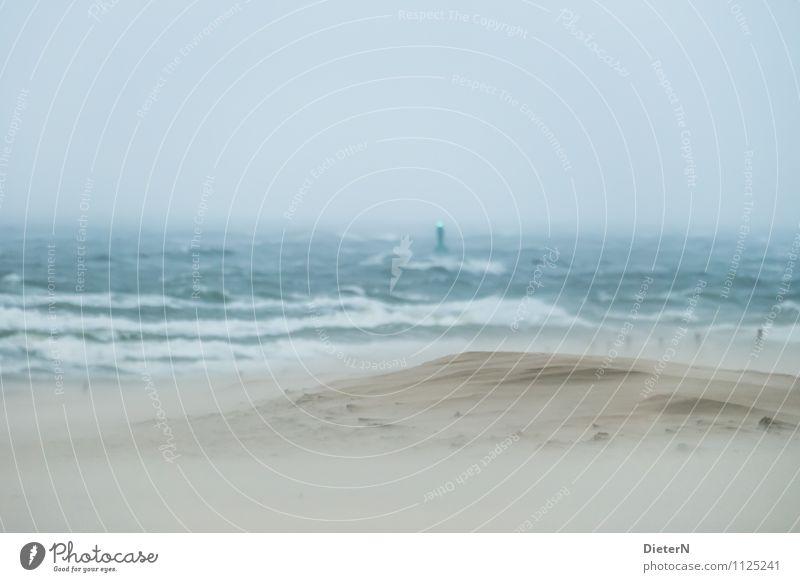 Sky Blue Green Water Ocean Environment Life Coast Brown Sand Horizon Rain Weather Air Waves Wind