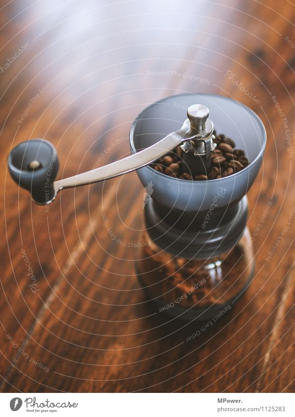 anologous kitchen appliance Food To have a coffee Hot drink Save Hip & trendy Coffee Beans Mill Coffee grinder Brown Fragrance Fresh Delicious Table Milled