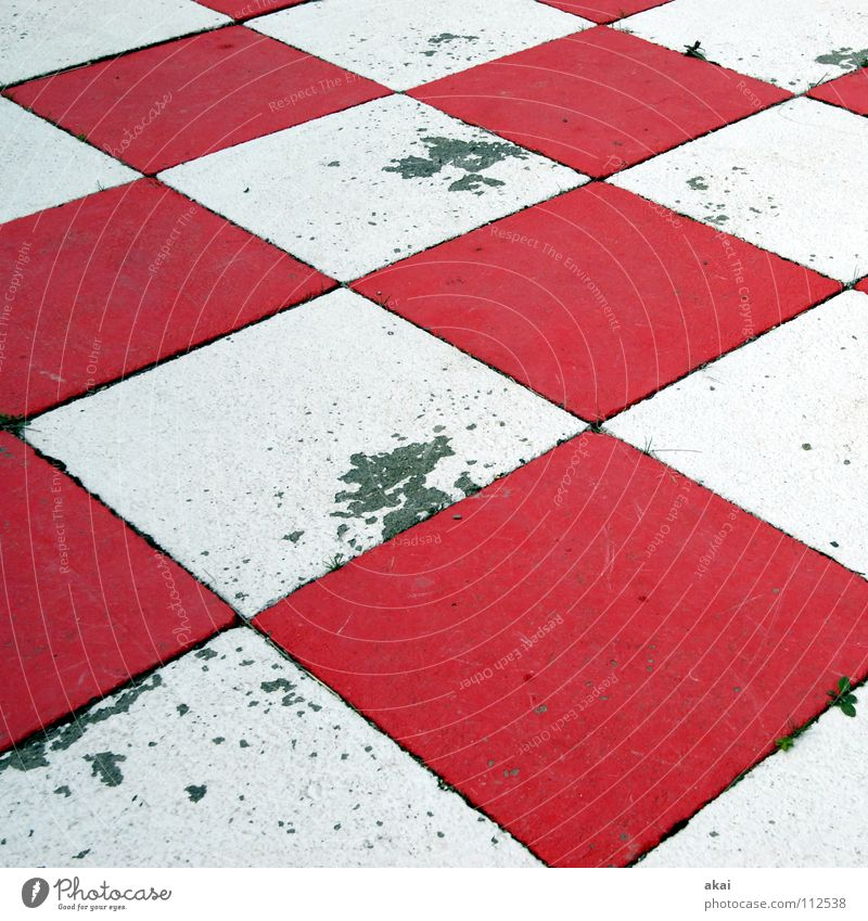 Checkmate! Black Checkered Chess Might White Red Empty Dirty Schauinsland Concentrate Success Sporting event Competition King ruler Lady Runner Tower tumbled