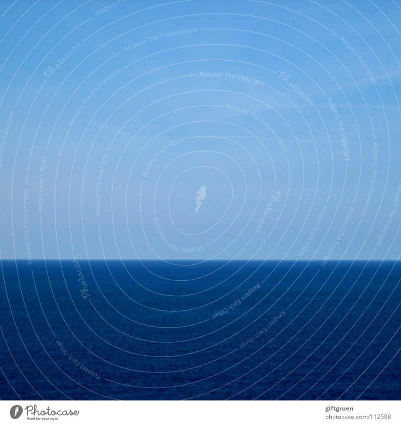 fifty-fifty or: half things Horizon Ocean Stripe Striped Minimalistic Sky Summer Water Blue fifty fifty Beautiful weather wallpapers