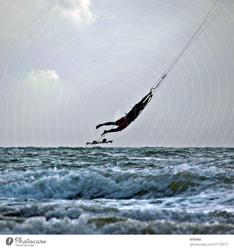 i believe i can fly II Kiting Jump Leisure and hobbies Surfing Vacation & Travel Aquatics Sailing Adventure Speed Ocean Belgium Joy Flying I think I can fly.