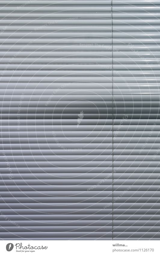 privacy screen Roller blind Venetian blinds Screening Gray Orderliness Planning Protection Waves Irritation Disturbance Stripe Line Line width Difference
