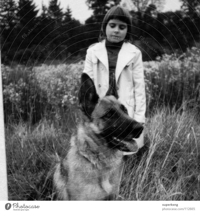 Girl Style Dog Retro