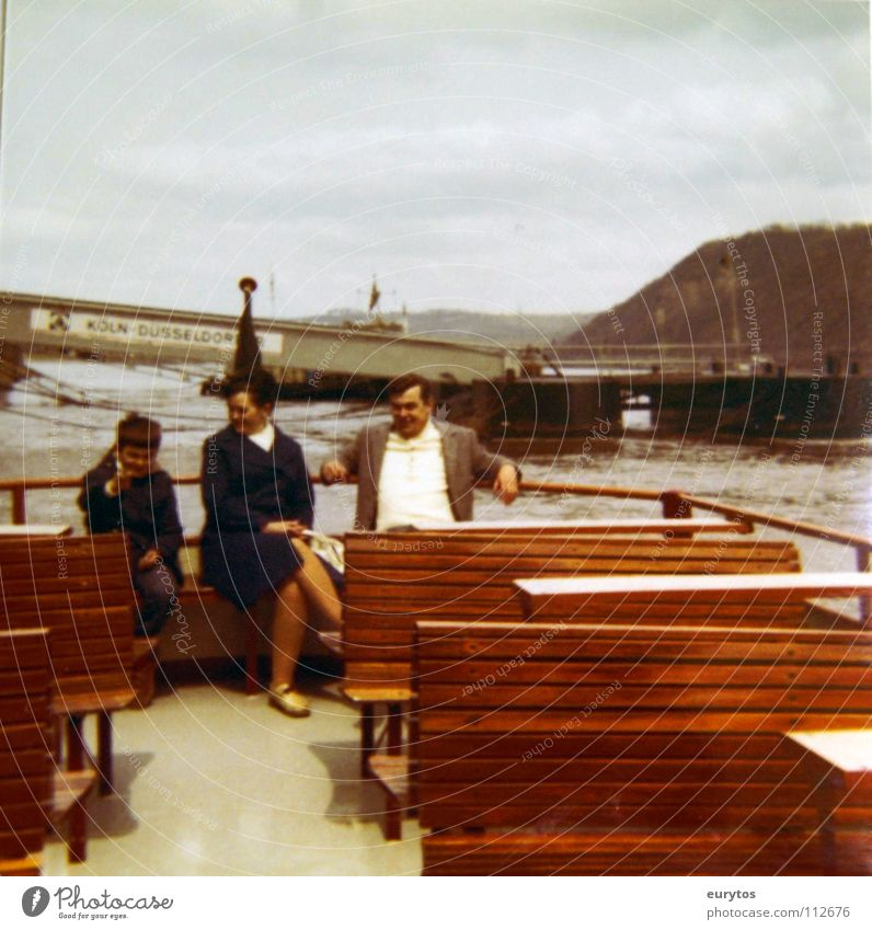 Water Joy Watercraft Bridge Bench Family & Relations Rhine Mosel (wine-growing area) Moselle