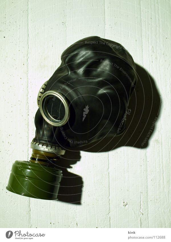 White Black Air Fear Protection War Panic Dugout Respirator mask Face mask