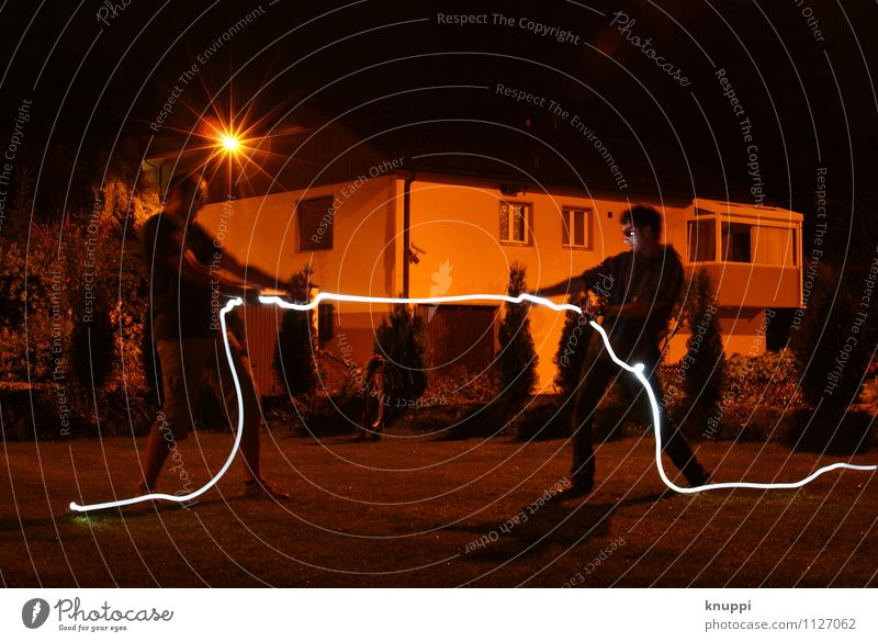 light rope pulling Design Sports Fitness Sports Training Human being Masculine Young man Youth (Young adults) Man Adults Brothers and sisters Family & Relations