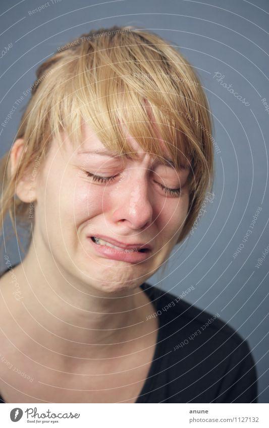 Tears In A Female Girl Sad Eye In 1080p Stock Footage