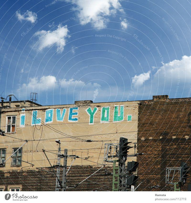 Love Berlin Wall (building) Graffiti Declaration of love
