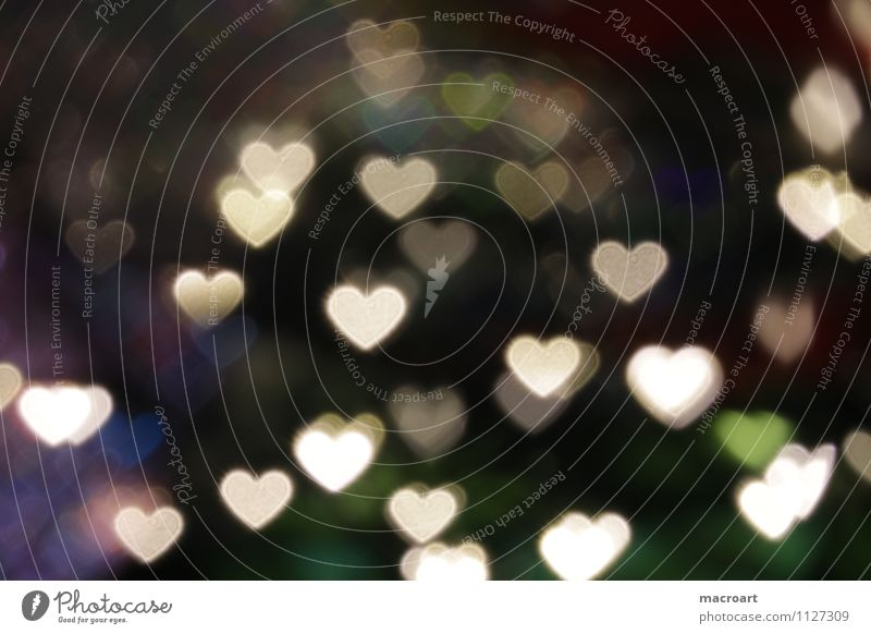 sweetheart cuddle bokeh background texture Love heart-shaped Dark Black Light Mother's Day Valentine's Day