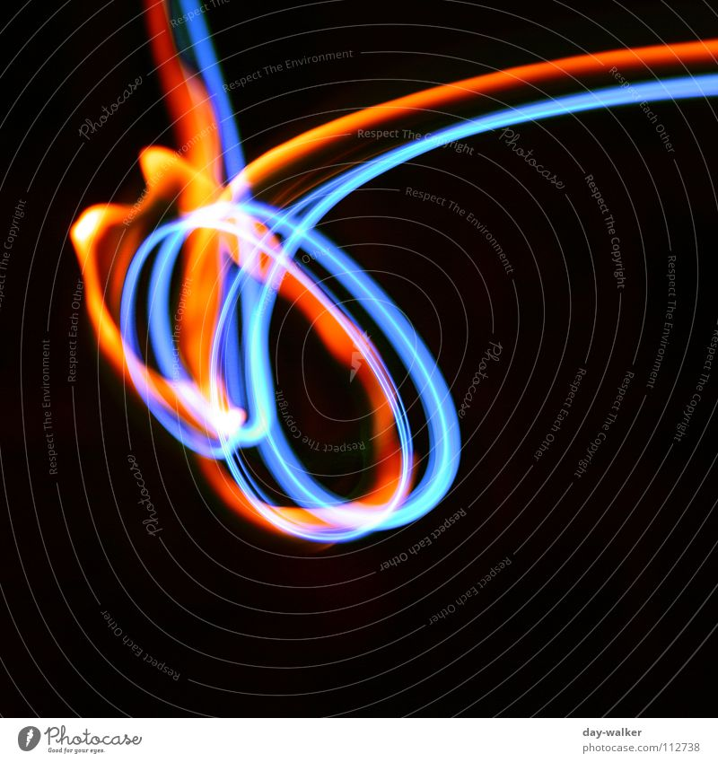 White Blue Red Black Colour Dark Orange Blaze Technology Abstract Neon light Visual spectacle Reaction Swirl