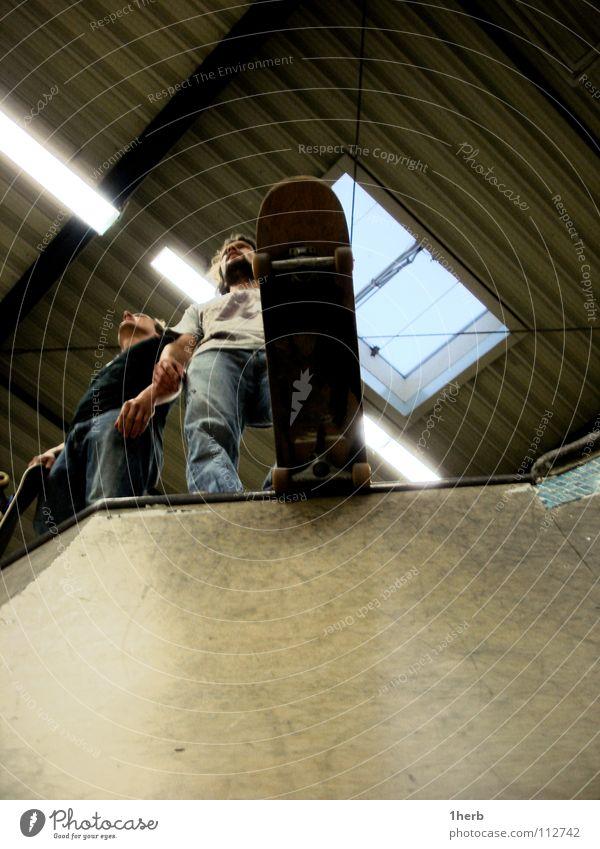 Joy Stand Skateboarding Warehouse Coil Halfpipe Funsport