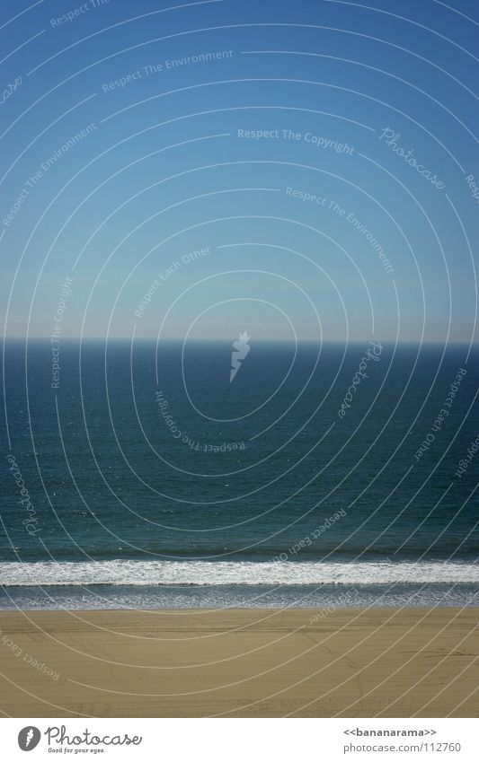 Water Sky White Ocean Green Blue Summer Beach Vacation & Travel Calm Lake Sand Line Watercraft Waves Horizon