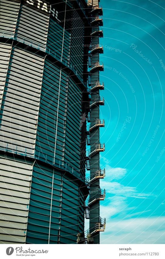 Industrial Tower Sky Architecture Building Metal Tall Technology Vantage point Industry Historic Handrail Manmade structures Balcony Monument Banister Steel
