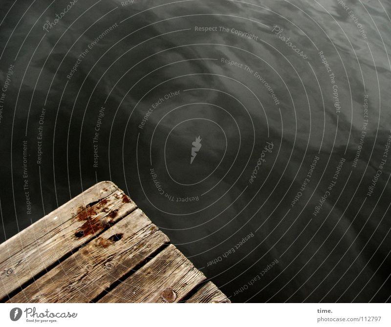 ~ ~ Structures and shapes Reflection Calm Water Bridge Wood Dark Wet Dry Safety Mysterious Footbridge Damp Deep Surface Diagonal Corner Wooden board Austria