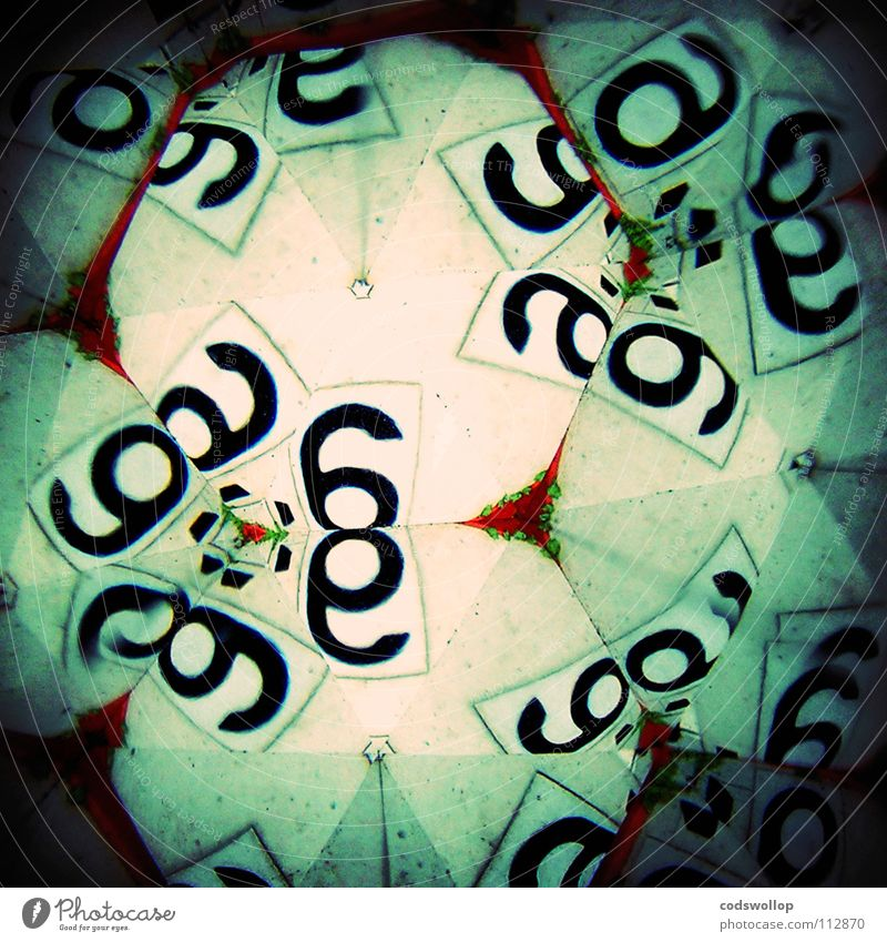 Digits and numbers Umbrella Science & Research 6 December Mathematics Formula Kaleidoscope 666