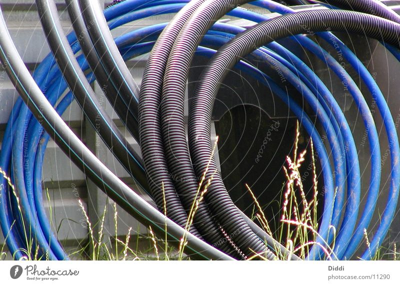 Electricity Cable Things Furrow Hose