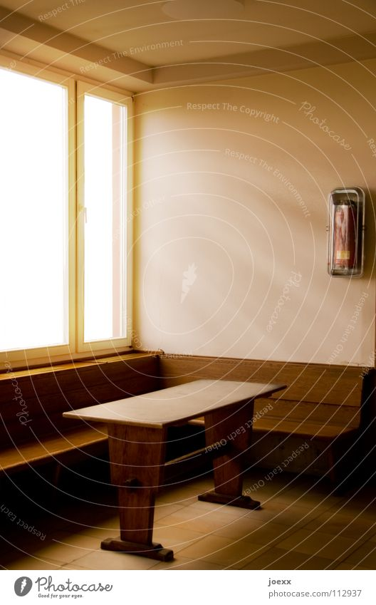 Window Wood Bright Room Wait Table Empty Derelict Station Furniture Radiation Train station Shaft of light Fire prevention Beam of light Departure lounge