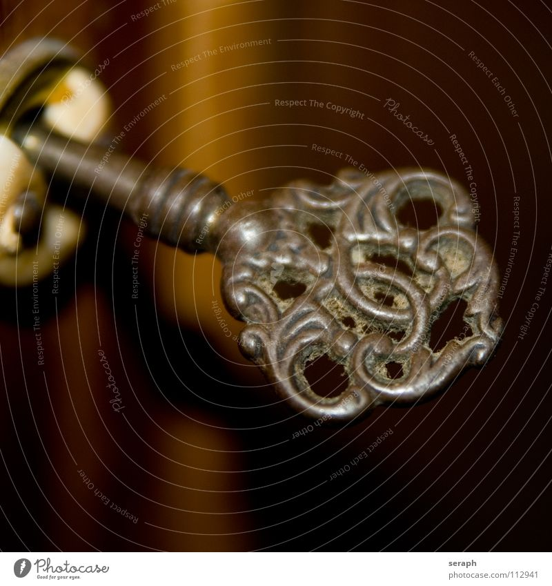 Old Background picture Metal Living or residing Decoration Things Individual Closed Safety Symbols and metaphors Mysterious Furniture Rust Lock Key Mystic