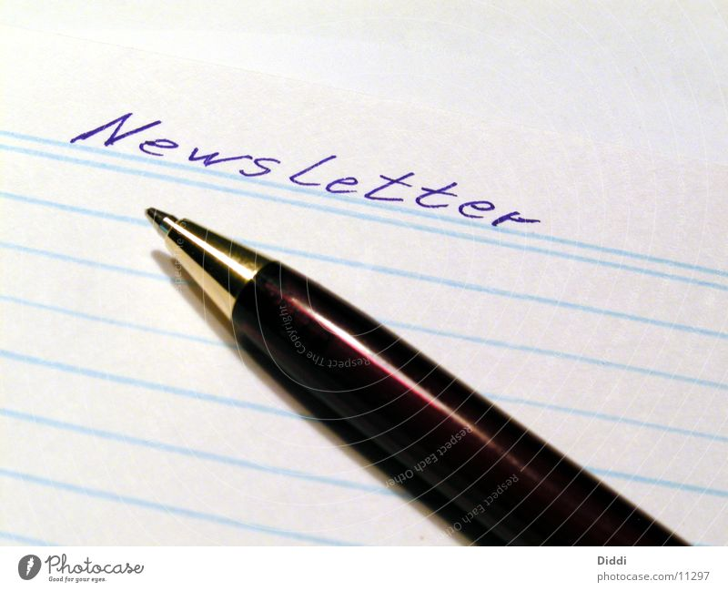 newsletter Circular letter Paper Things Write Business