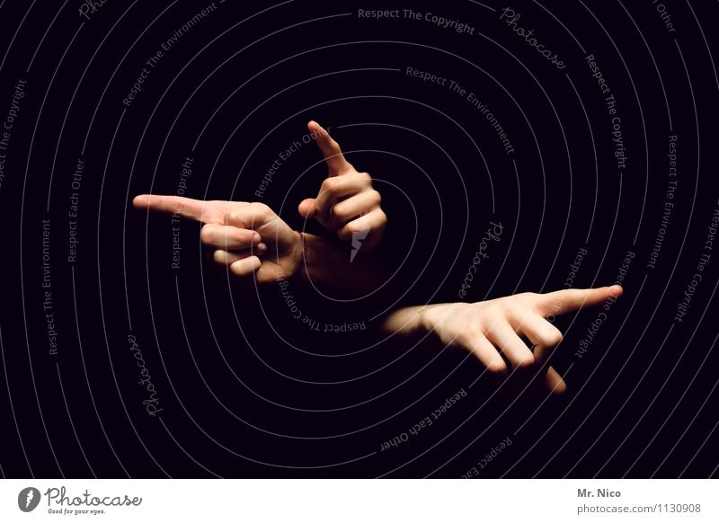 there.there.there. Human being Hand Fingers Sign Touch Irritation Indicate Trend-setting Direction Forefinger Gesture Posture Limbs Black Finger game