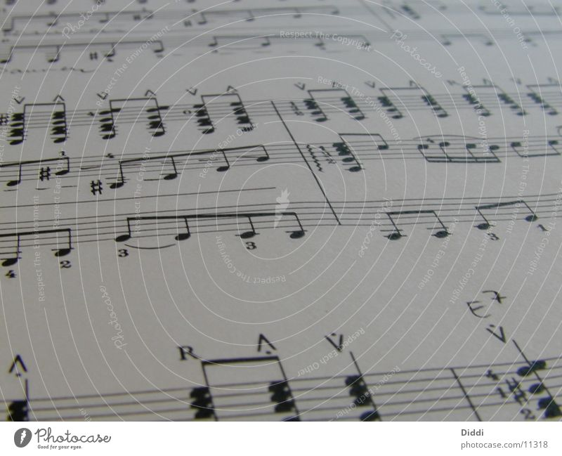 Music Paper Things Musical notes