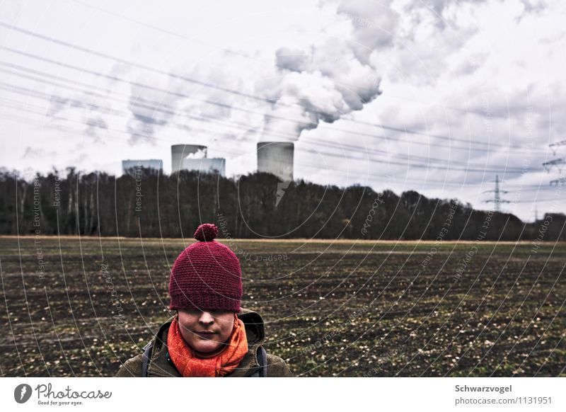Little Red Riding Hood and the Power Station Advancement Future Energy industry Renewable energy Nuclear Power Plant Coal power station Energy crisis