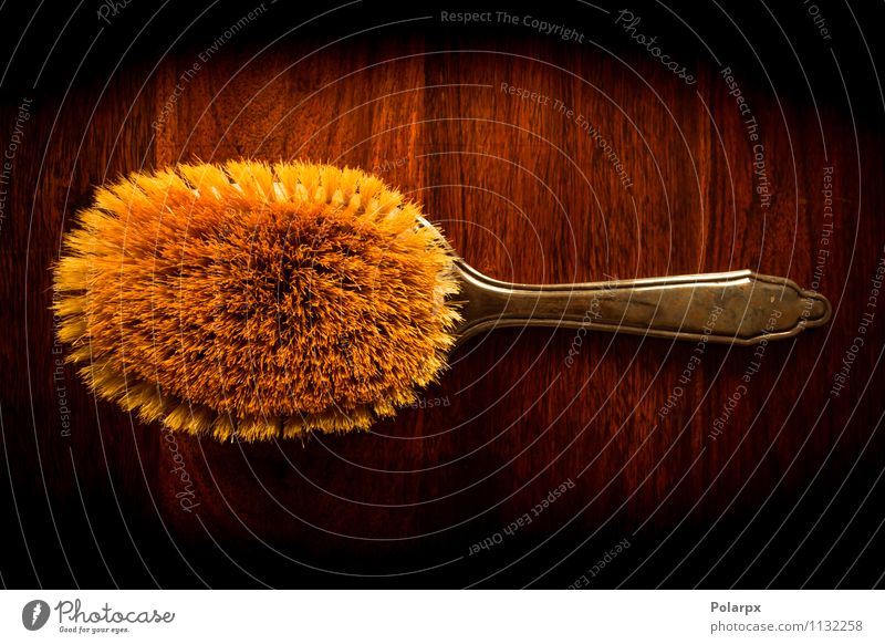 Brush on wood Nature Old Colour Tree Dark Natural Style Brown Fashion Hair Design Decoration Table Retro Beauty Photography Material