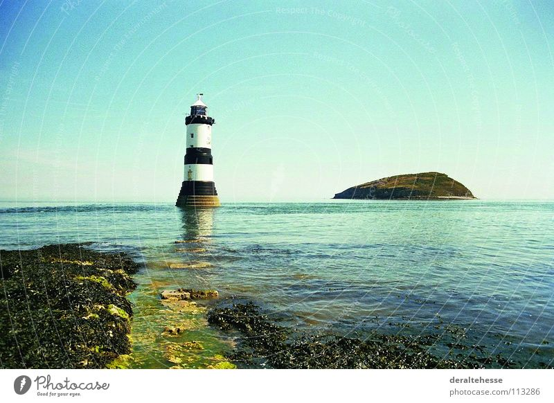 Ocean Vacation & Travel Relaxation Architecture Island Vantage point Lighthouse England Wales