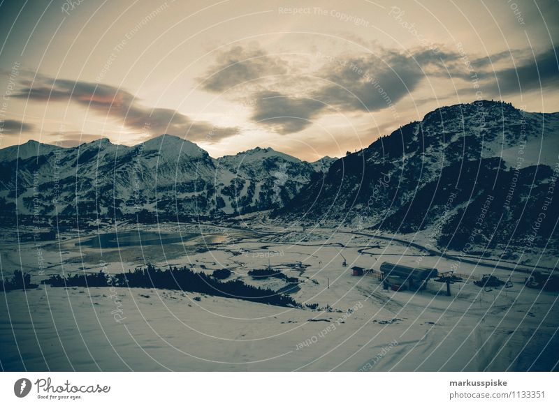 obertauern AT Harmonious Contentment Relaxation Calm Meditation Leisure and hobbies Vacation & Travel Tourism Trip Adventure Far-off places Freedom Winter Snow