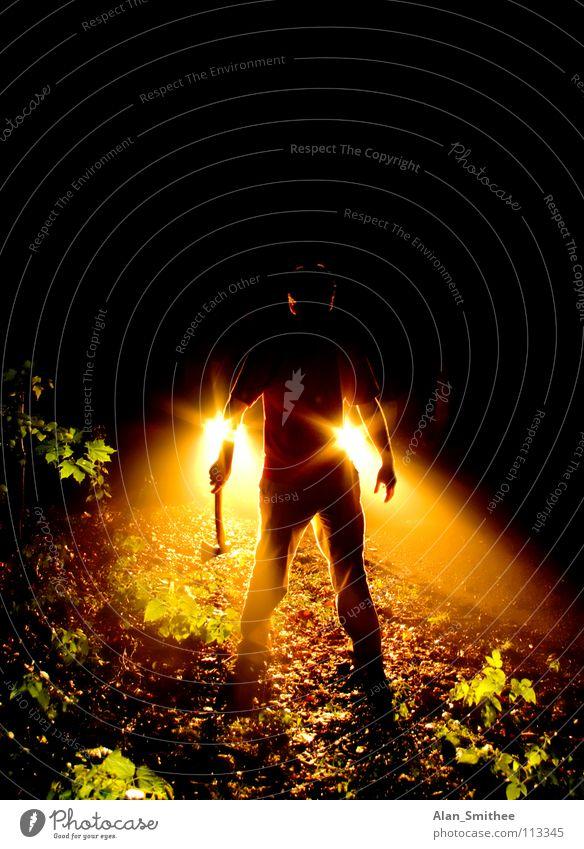 Man Fear Crazy Dangerous Panic Assassin