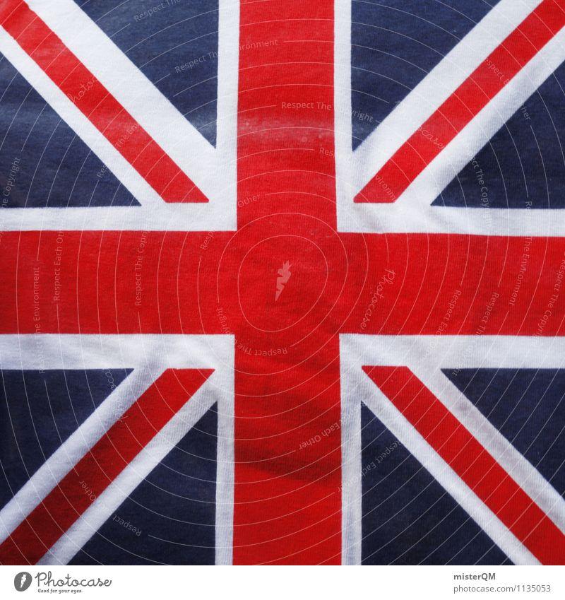 Blue White Red Art Design Power Symbols and metaphors Flag Wanderlust Landmark Crucifix London Great Britain Nationalities and ethnicity Ensign Crusader